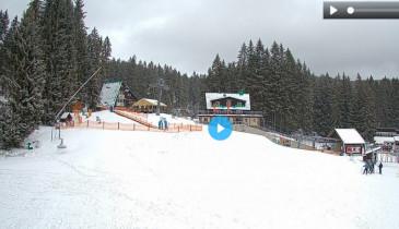 Preview webcam image Ski-Bike Železná Ruda-upper station