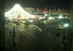 Preview webcam image The square del Mercato - Bruges