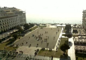 Preview webcam image Thessaloniki - Aristotelous Square