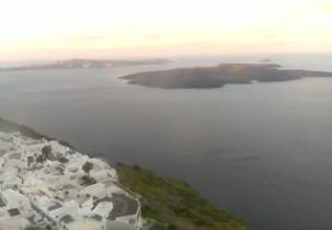 Preview webcam image Santorini - Firostefani village