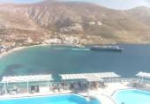 Preview webcam image Beach Aegialis - Amorgos