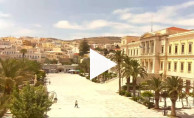 Preview webcam image Ermoupoli - Syros