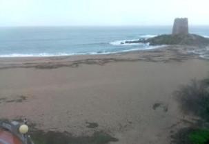 Preview webcam image Beach Torre di Bari - Bari Sardo