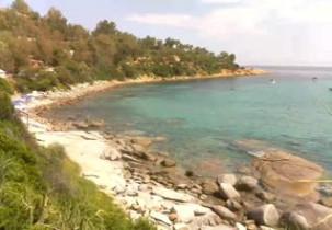 Preview webcam image Bay of Porto Frailis - Arbatax