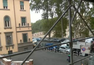 Preview webcam image Bridge Sisto in Trastevere