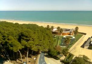 Preview webcam image Alba Adriatica beach