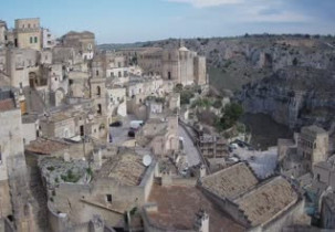 Preview webcam image Sassi of Matera
