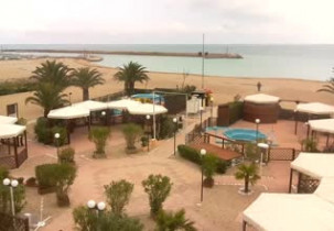 Preview webcam image Beach Numana - Riviera del Conero