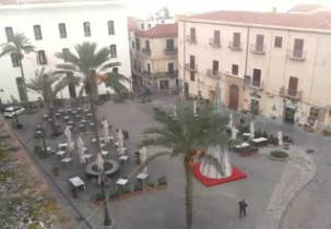 Preview webcam image Cathedral Square in Cefalù