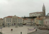 Preview webcam image Tartini Square - Piran