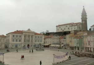 Preview webcam image Tartini Square - Piran