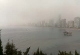 Preview webcam image Benidorm - Beach de Levante