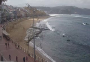 Preview webcam image Beach Las Canteras - Las Palmas