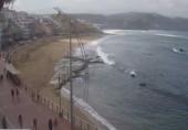 Preview webcam image Las Palmas - Beach Las Canteras