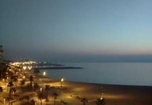 Preview webcam image Beach di Sant Sebastia - Barcellona
