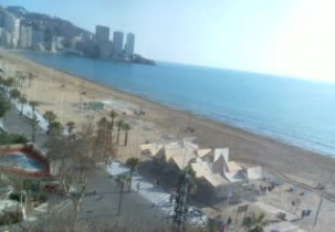 Preview webcam image Benidorm - Spiaggia Levante