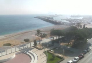 Preview webcam image Altea - Spiaggia La Roda