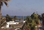 Preview webcam image Lanzarote - Playa de las Cucharas