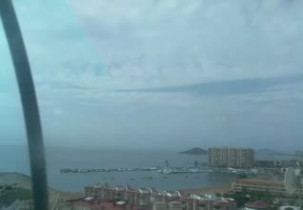Preview webcam image Spiaggia di La Manga del Mar Menor - Cartagena