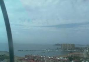 Preview webcam image Spiaggia di La Manga del Mar Menor - Cartagena