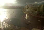 Preview webcam image Spinola Bay