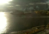 Preview webcam image Grande Harbour from British Hotel