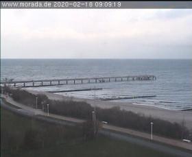 Preview webcam image Kühlungsborn, Baltic Sea