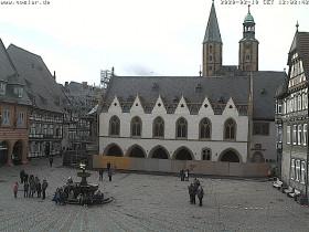 Preview webcam image Goslar - Market and City Hall