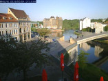 Preview webcam image Bernburg, pedestrian bridge
