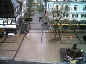 Preview webcam image Detmold - Market