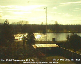Preview webcam image Aschaffenburg-Obernau