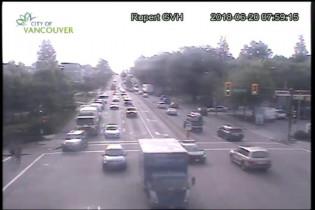 Preview webcam image Vancouver - Grandview Rupert - East