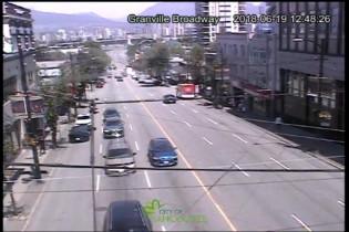 Preview webcam image Vancouver, Granville & Broadway