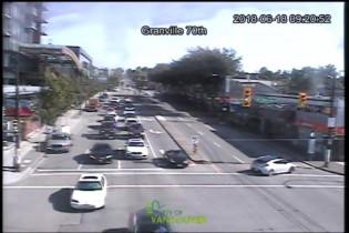 Preview webcam image Vancouver, Granville Street