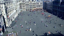 Preview webcam image Brusel - Grand-Place