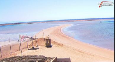 Preview webcam image Dahab - beach