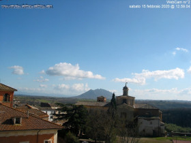 Preview webcam image Civita Castellana - Monte Soratte