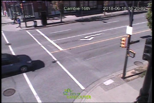 Preview webcam image Vancouver - Cambie 16th - West