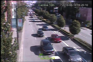 Preview webcam image Vancouver - Cambie 16th - North