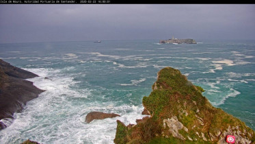 Preview webcam image Santander - Islo de Mouro