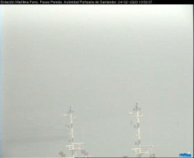 Preview webcam image Santander