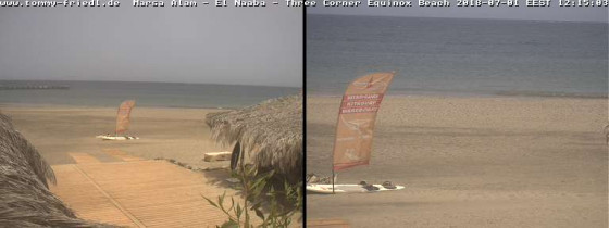 Preview webcam image Hurghada - surf beach