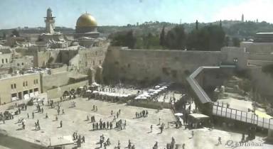 Preview webcam image Jerusalem -  Western Wall 2