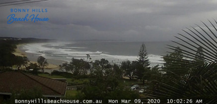 Preview webcam image Bonny Hills - Rainbow Beach