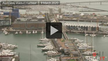 Preview webcam image Auckland - Viaduct Harbour