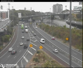 Preview webcam image Auckland - Central Motorway Junction