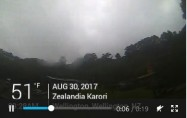 Preview webcam image Wellington - Zealandia Karori
