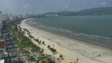 Preview webcam image Bay Praia de Santos