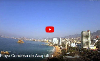 Preview webcam image Beach Condesa - Acapulco