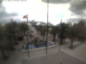 Preview webcam image Cozumel - Puerta Maya Cruise Center